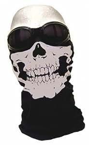 """7X - Pasamontañas de media caña diseño de """"Assasin's Skull"""" y pañuelo diseño de calavera Call of Duty Modern Warfare (pasamontañas de neopreno, aptos para usar en exteriores, esquí, snowboard, surf, moto, bicicleta y quad, así como para airsoft o paintball)"""