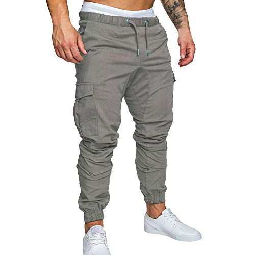 En Rayé Coton Gris Rayures Grande Homme Sport Pantalons De Taille Foncé Sarouel Hommes Et Pantalon Colorées Pour Amuster Lin À Élastique Tissés wSYUqXR