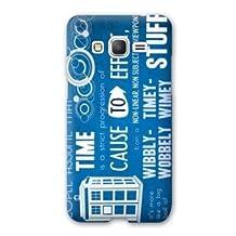 Case Samsung Galaxy Grand Prime Doctor Who - - bleu B -