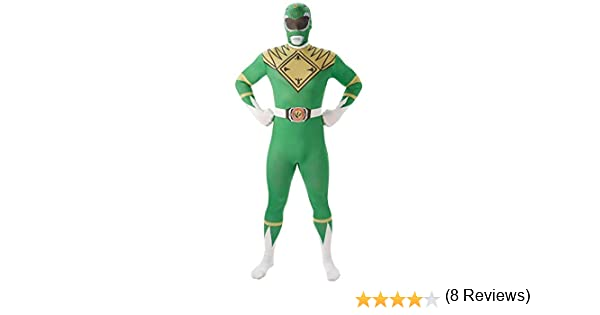 Mighty Morphin Power Rangers Green Ranger - Adult 2nd Skin Costume ...