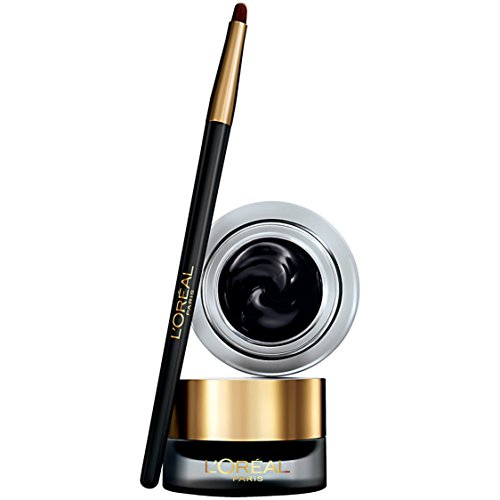 L'Oréal Paris Infallible Lacquer Eyeliner, Blackest Black (Packaging May Vary) (Best Drugstore Smudge Proof Mascara)