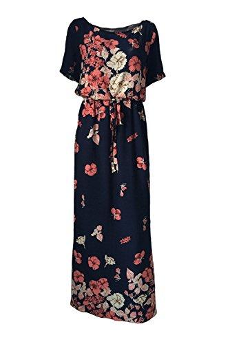 Silk Butterfly Print Dress - 5