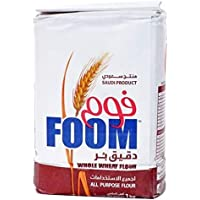 Foom Whole Wheat Flour, 1Kg - Pack of 1