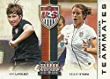 2012 Panini Americana Heroes and Legends US Women's Soccer Teammates #8 Amy LePeilbet/Kelley O'Hara NonSport Card NM-MT