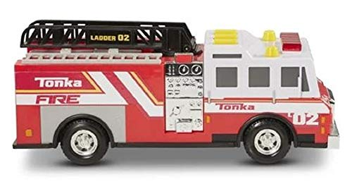 Tonka Fire Truck - Mighty Fleet Rescue Lights and Sounds (Large Tonka Fire Truck)