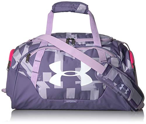 Under Armour Undeniable Duffle 3.0 Gym Bag, Salt Purple//White, Small Fits All