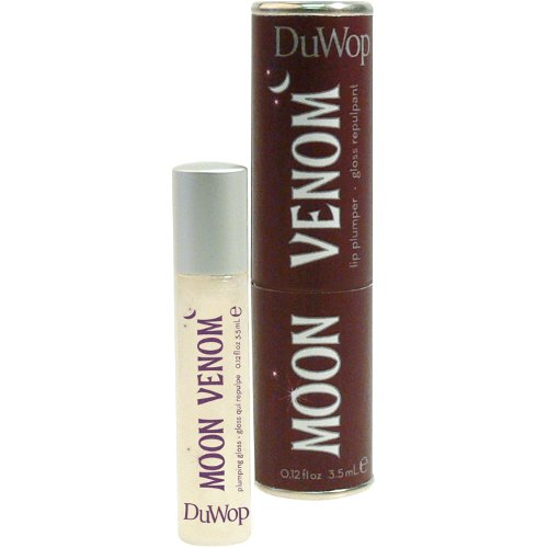 - DuWop Cosmetics Lip Venom Lip Plumping Balm - Moon Venom (Clear)