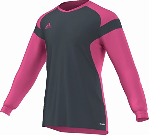 Nike Goalie Jersey (adidas Performance Men's Precio 14 Goalkeeper Jersey, Dark Onyx/Bloom, Large)