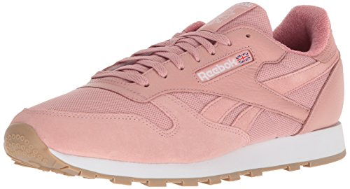 Reebok Men's CL Leather Estl Sneaker Chalk Pink/White clearance online cheap real tKVwys