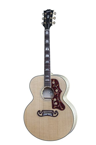(Gibson J-200 Standard  Acoustic-Electric Guitar Antique Natural Finish)