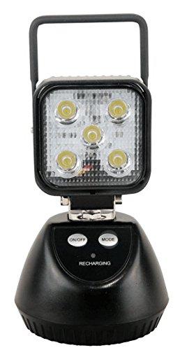 KIYOYO 【1年保証】投光器 led 充電式 15W サンダービーム ポータブル投光器 作業