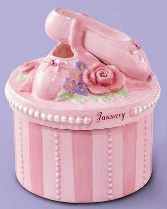 (A Time to Dance Classics January Ballerina Trinket Box by Russ)