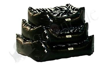Cama para perros Safari (Zebra Negro/Blanco) de yagu: Amazon.es: Productos para mascotas
