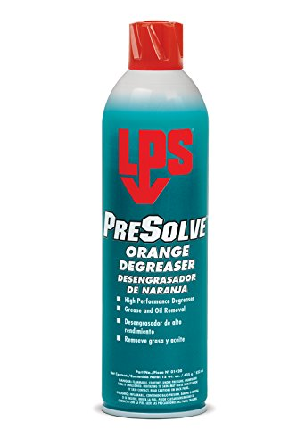 Citrus Bearing Cleaner (LPS PreSolve Orange Degreaser, 15 oz Aerosol (Pack of 12))