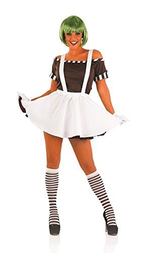 Sexy female oompa loompa costume