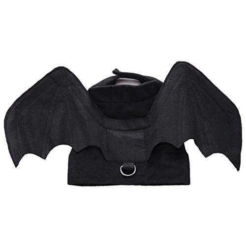 ZyMotorized Halloween Bat Wing Clothes for Cats Puppy Dogs Funny Costume for Cat Kitten Halloween Party Cat Clothing