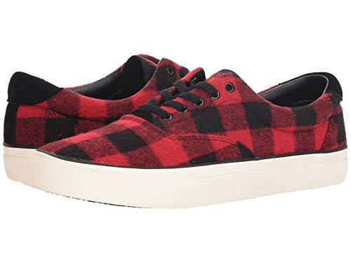 [Polo Ralph Lauren(ポロラルフローレン)] メンズカジュアルシューズ?スニーカー?靴 Thorton Black/Red 7.5 (26cm) D - Medium