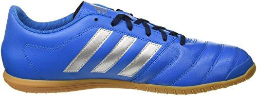 Adidas AQ4147, Zapatillas de Fútbol Hombre Azul (Shock Blue/Silver Metallic/Collegiate Navy)