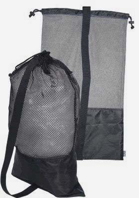101SNORKEL Black Snorkel Bag! Mesh Draw String w/Shoulder Strap -