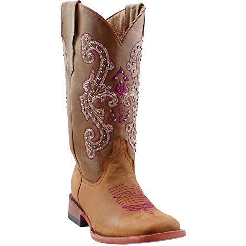 Ferrini Ladies Studded Cowgirl Boot
