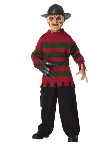 Child Krueger Costumes Freddy (Freddy Krueger Child Sweater)