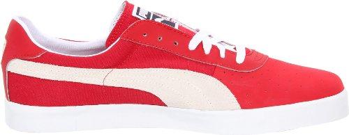 Puma Uomo Gv Vulc Stringate Moda Sneaker Squadra Regale Rosso / Bianco