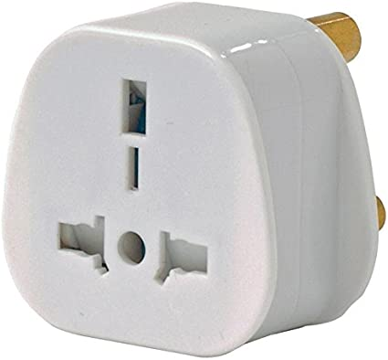 England,/& Europe to South Africa Mains Travel Adaptor Plug adapter Boxed UK