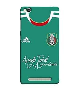 ColorKing Football Mexico 06 Green shell case cover for Xiaomi Redmi 5A