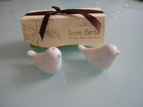 40pcs=20sets Love Bird Salt & Pepper Shakers Wedding Party Favor Gift -