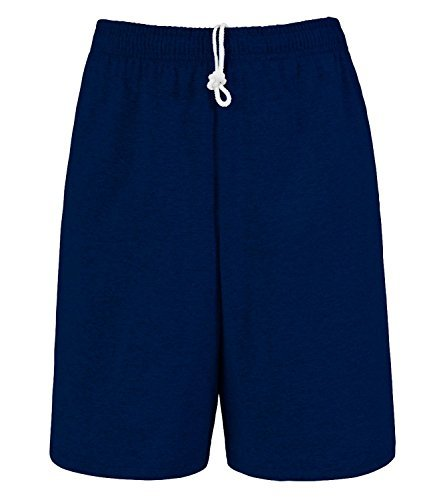对于出售 Fruit the Loom Men' Jersey Short .Navy
