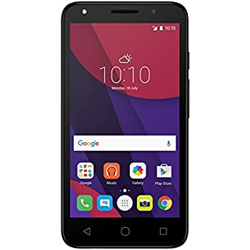 "Alcatel PIXI 4, 5"" Factory Unlocked Phone - 32 GB - Black (U.S. Warranty)"