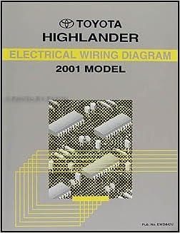 2001 toyota highlander wiring diagram manual original: toyota: amazon.com:  books  amazon.com