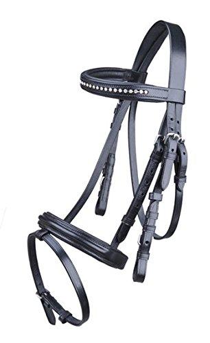 HKM Mini Shetty Shetland Hanoverian Bridle Black Quality Leather