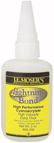 J.E. Moser's 909356, Adhesives, Instant, Thick Viscosity Lightning Bond
