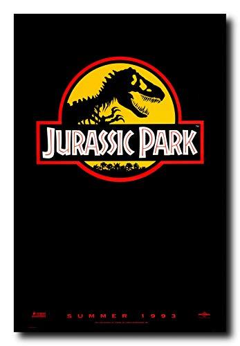 Mile High Media Jurassic Park Movie Poster 24x36 Inch Wall Art Portrait Print