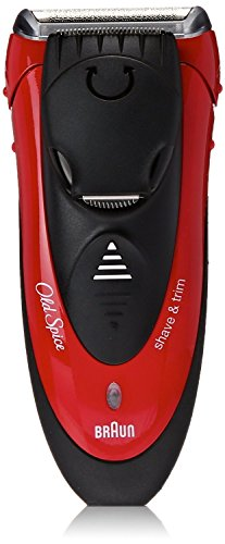 Single Electric Wide (Old Spice Men's Electric Foil Shaver / Electric Razor, Wet & Dry, Great for Trimming, powered by Braun)