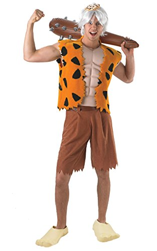 [Rubie's Costume Co Men's The Flintstone's Bamm-Bamm Adult Deluxe Costume, Multi, One Size] (Flintstones Costumes For Family)