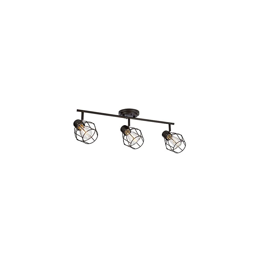 NOMA Track Lighting | Adjustable Ceiling Light Fixture | Perfect for Kitchen, Hallway, Dining Room, Bedroom and Bathroom…