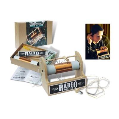 Kit de réception Radio cristal - une radio d'antan