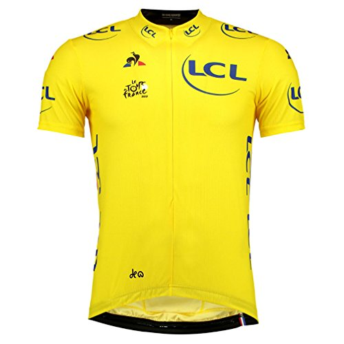 Le Tour de France Le Coq Sportif - Official 2017 Yellow Jersey (S)