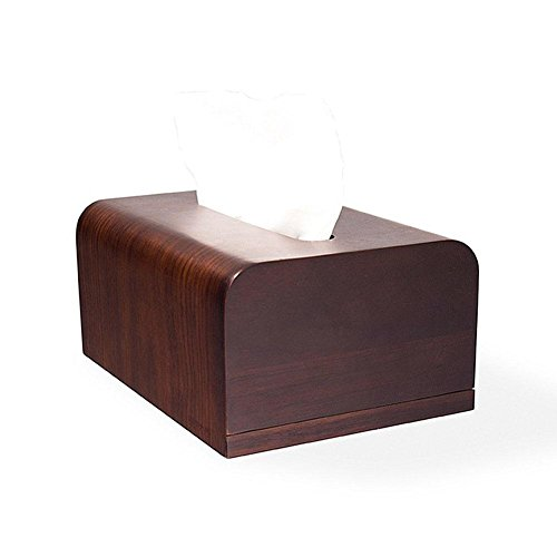Creative Wooden Tissue Box Holder Cover for Home Office Car Decor by YANXH home (Image #4)
