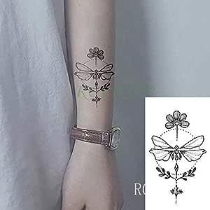 5pcs Impermeable Tatuaje StickerDragonfly Tatto Tatuaje Tatouage ...