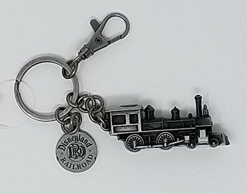 - Disneyland Resort Railroad Train Metal Keychain