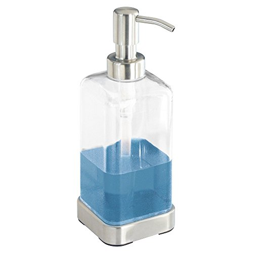 InterDesign Forma Soap Dispenser Pump for Body Moisturizer,