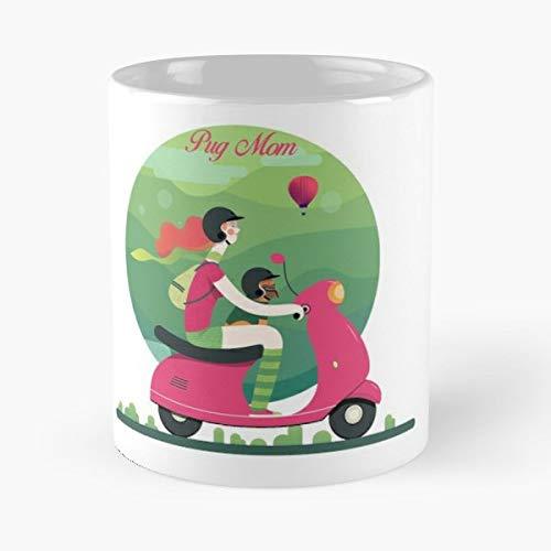 (Pug Pets Animals Dog - Coffee Mug Best Gift 11 Oz Father Day)