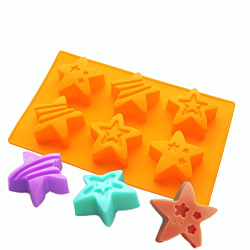 Star Silicone Mold - 6