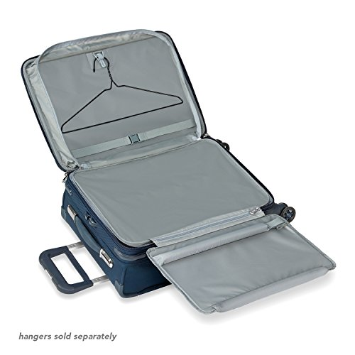 Briggs & Riley Baseline Domestic Expandable Carry-On 22'' Spinner, Navy by Briggs & Riley (Image #3)