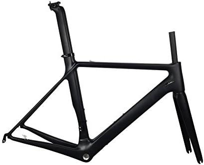 Amazon.com : Smileteam 2018 New Aero Carbon Break Wind Bicycle Frame ...