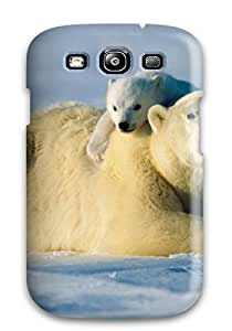 4880680K17253119 Fashionable Galaxy S3 Case Cover For Polarbears Protective Case
