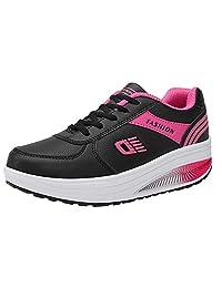 Sneakers Fashion Women Heightening Soft Bottom Rocking Shoes Student Runing Shoe